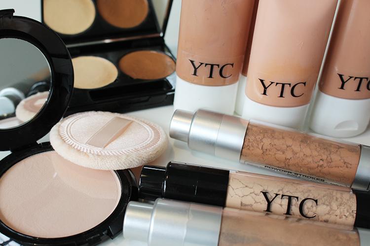 verschillende make up artikelen