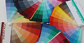 afbeeldingen van de kleurenwaaiers van Colours for You
